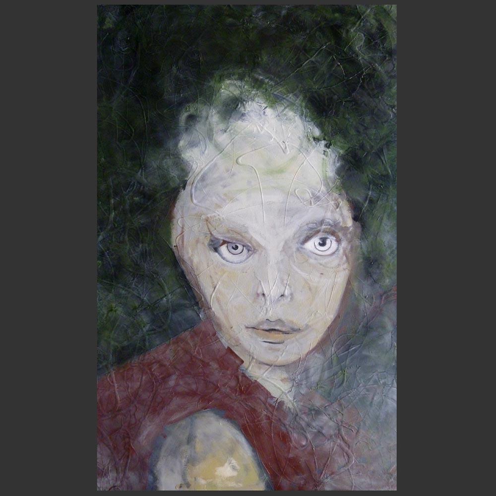Vogue Woman ll - painting by Sam Roloff of Portland Oregon 2011
