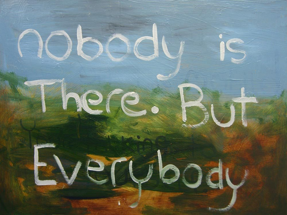 Nobody prays - a painting by Portland Fine Artist Sam Roloff