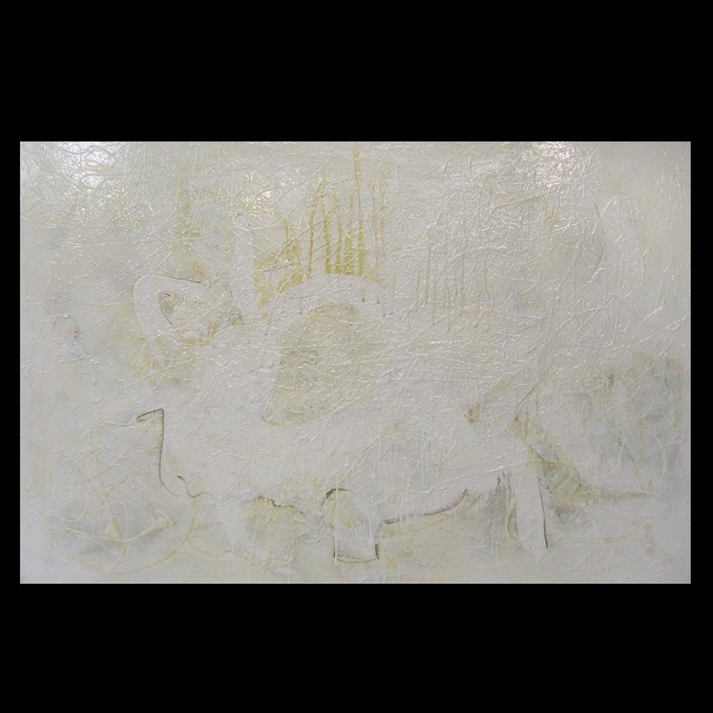 Swan and the Goat painting by Sam Roloff