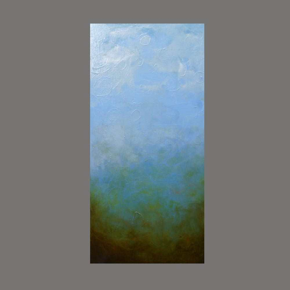Jory Soil First State Northwestern series, blue sky, oil painting Jory soil dirt