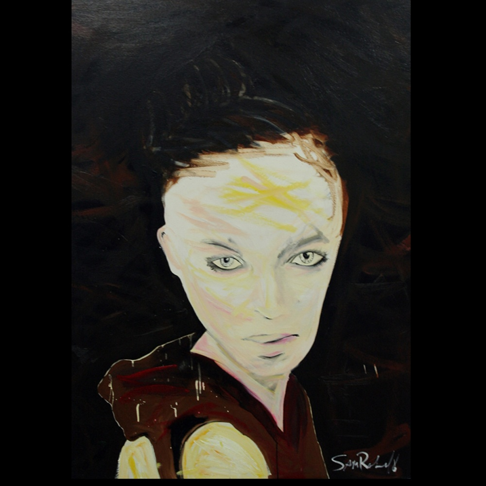 "Painting ""Vogue Women\"" by Sam Roloff - SOLD"