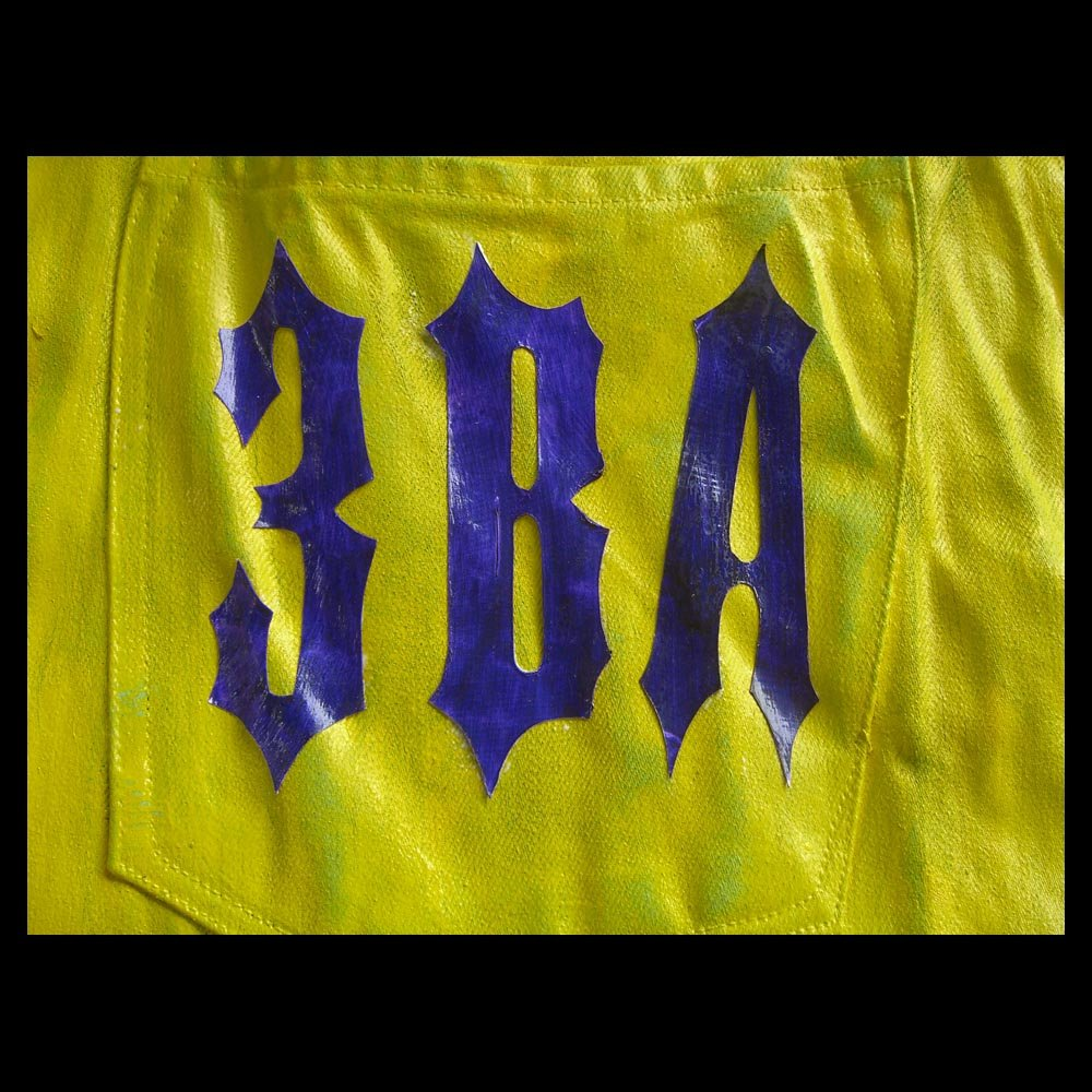 3ba logo on ac green pants basketball