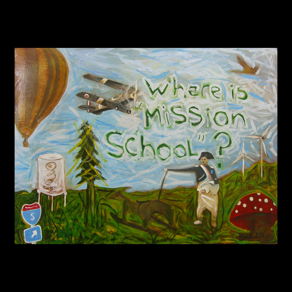 Where is Mission School by Sam Roloff
