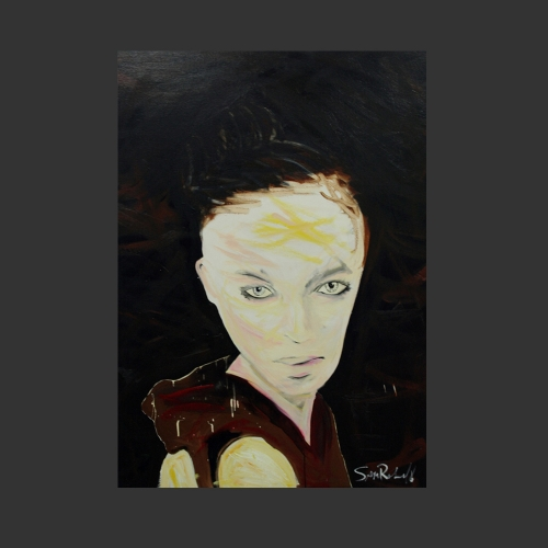 vogue women    - a painting by Sam Roloff