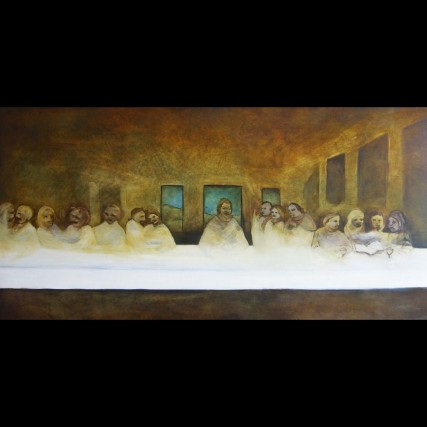 Last Supper Oil Painting #samroloff #roloff #lastsupper #art #painting