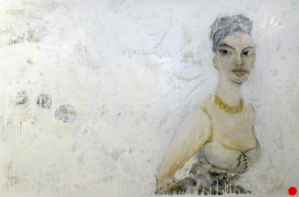 Sophia 3005 Sam Roloff Oil on Canvas 2010 6x4 ft, 48x72 inches