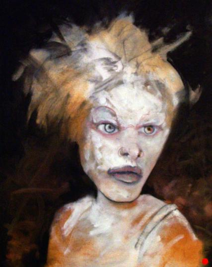 Shannin Lewis Lowe 3226 Oil on Canvas 16 x 20 inches Sam Roloff Portland Women 2012