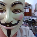Anonymous mask Sam Roloff