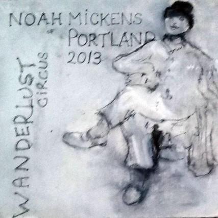 6 of 10 Noah Mickens of Wanderlust Circus 2013 Sam Roloff Portland Oregon