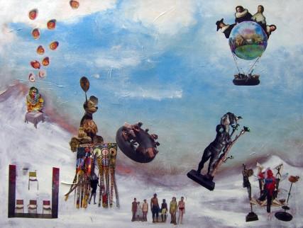 #ydessahendeles #artnews #collage #mixedmedia #archipelago #kcho #raimondsstaprans #franzwest #jenniferbartlett #guylebaube #cindysherman #untitled416 #stephendestaebler #davidbeck #rcrumb #thevulturegoddess #markuslupertz #jackephart #dijkstra #rembrandt #beresteyn #samroloff #Roloff #portlandart #sfai #Portland #whitespacepdx