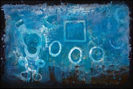 blueBoy painting by Sam Roloff