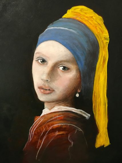 "Girl with the Pearl Earring ""Scarlett Johansson"""