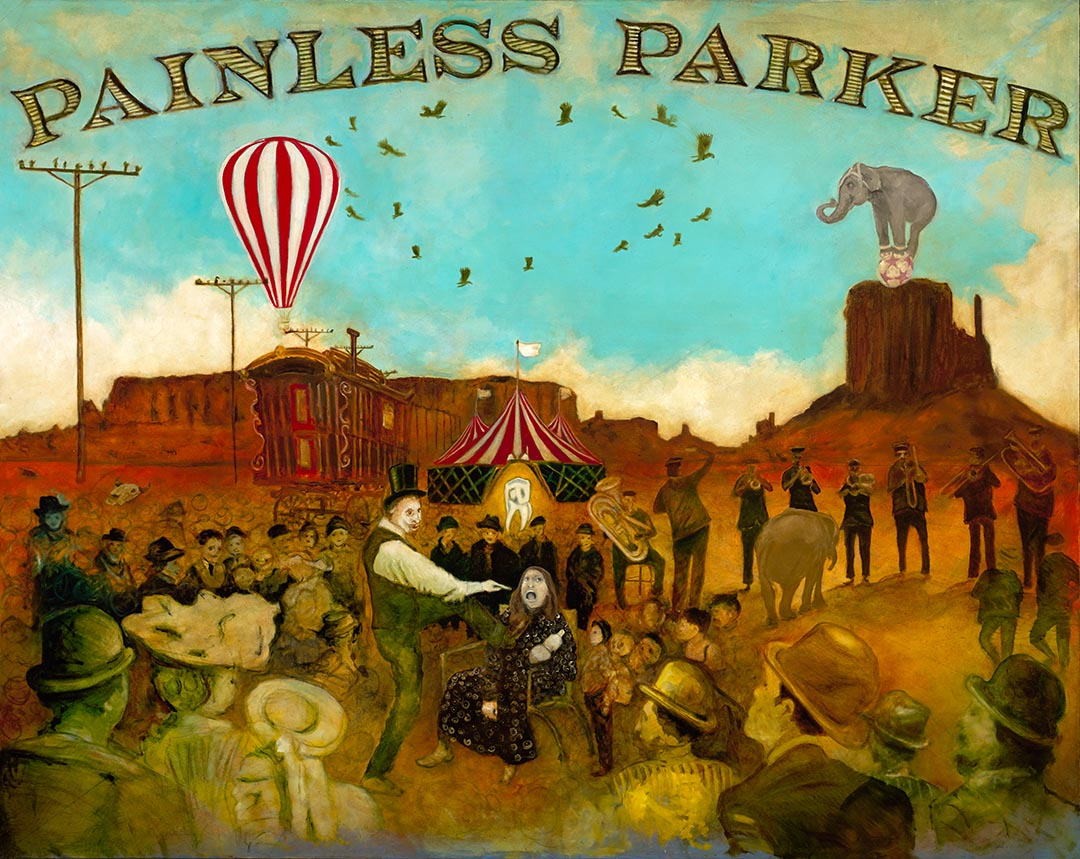 Painless Parker Painting