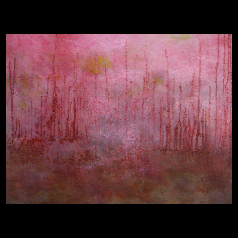"""Painting \""""AC 360 - Anderson Cooper\"""" by Sam Roloff - SOLD"""