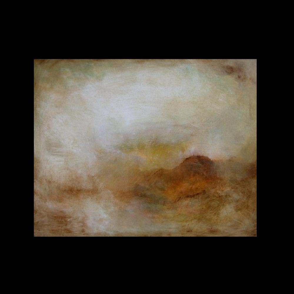 """Painting \""""First Landscape\"""" by Sam Roloff"""