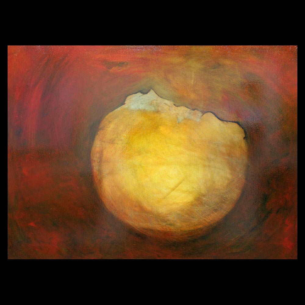 """Painting \""""The Orb\"""" by Sam Roloff - SOLD"""