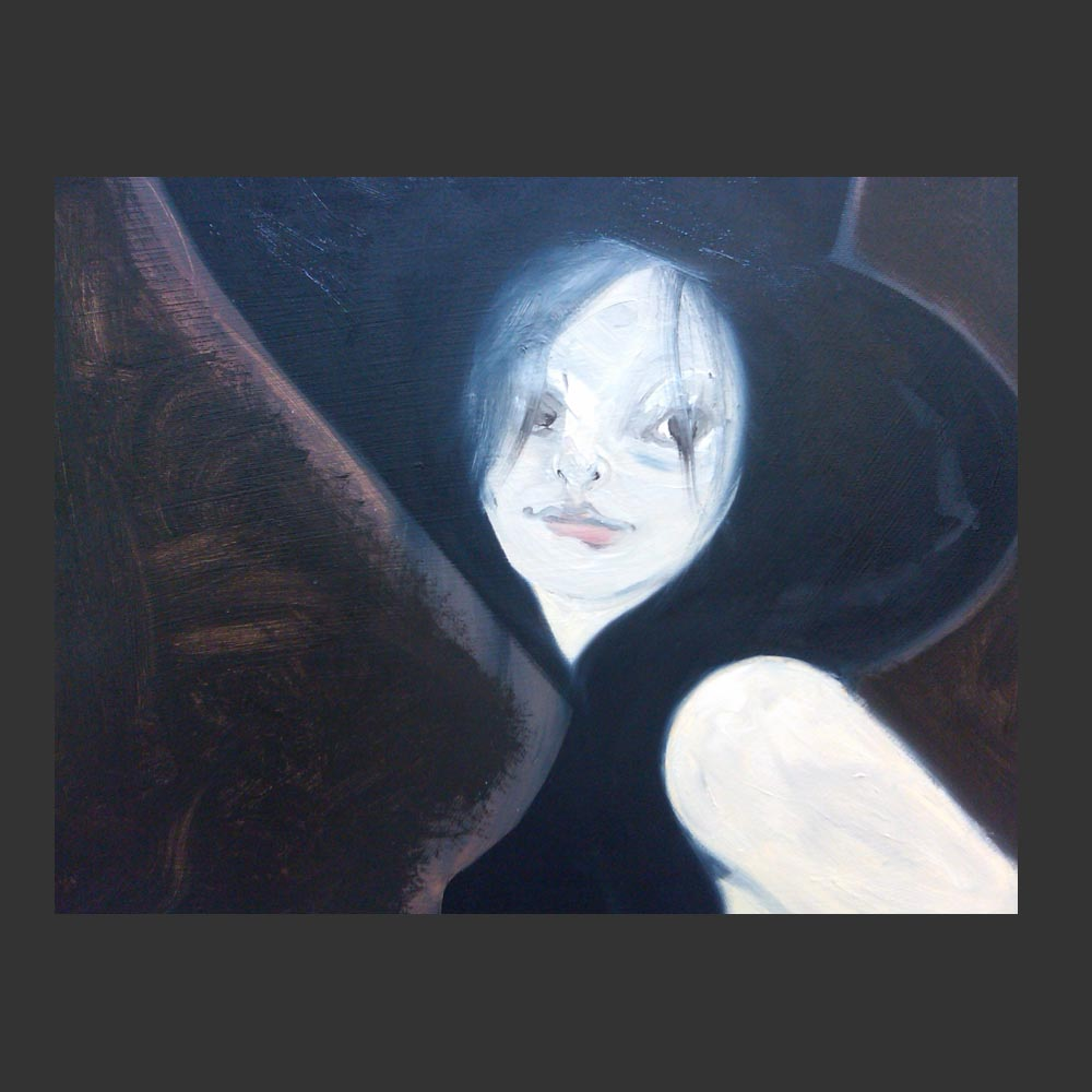 Liv Tyler inspired painting by artist Sam Roloff 20 x 16 inches