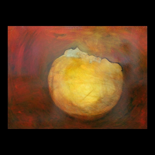 The orb - oil painting by Sam Roloff