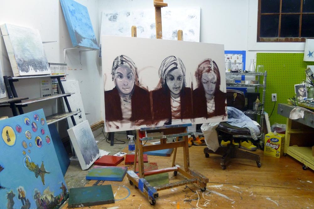 Cheryl Roloff in three parts, photos from SF