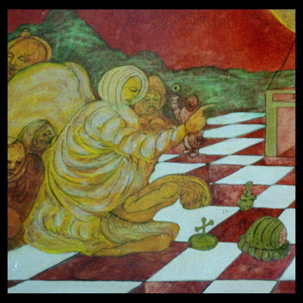 detail of The Birth and Delivery - part 2 by Sam Roloff